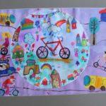 Конкурс детского рисунка «Мы и транспорт»
